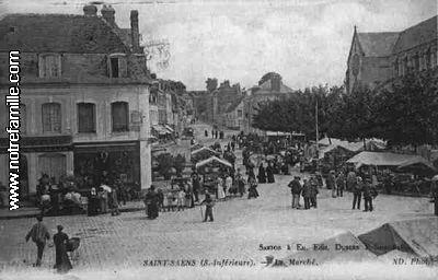 Photos et cartes postales anciennes de saint sa ns 76680 for 3f haute normandie