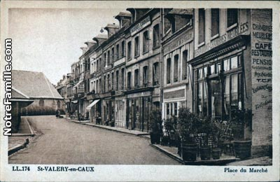 Photos et cartes postales anciennes de saint valery en for Piscine st valery en caux