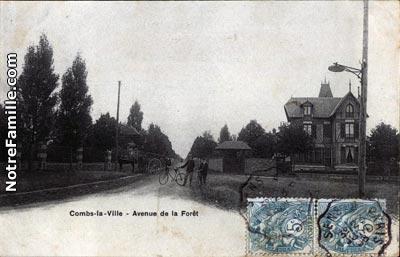 photos et cartes postales anciennes de combs la ville 77380. Black Bedroom Furniture Sets. Home Design Ideas
