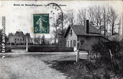 Photos et cartes postales anciennes de saint fargeau - Piscine saint fargeau ponthierry ...