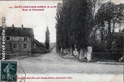 photos et cartes postales anciennes de saint ouen sur morin 77750. Black Bedroom Furniture Sets. Home Design Ideas