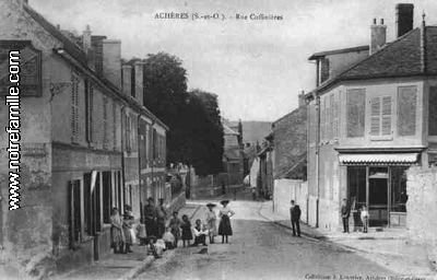 Photos et cartes postales anciennes de ach res 78260 for Garage des communes acheres