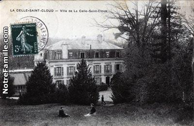 photos et cartes postales anciennes de la celle saint cloud 78170. Black Bedroom Furniture Sets. Home Design Ideas