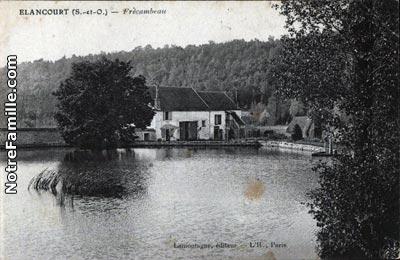 Photos et cartes postales anciennes de lancourt 78990 for Piscine elancourt