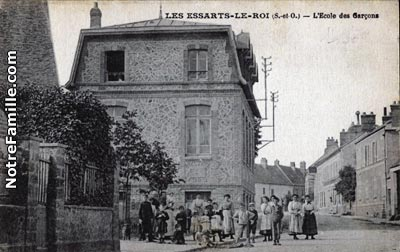 Photos et cartes postales anciennes de les essarts le roi for Garage ad les essarts le roi