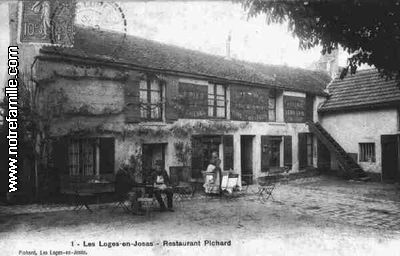 Photos et cartes postales anciennes de les loges en josas for Garage jouy en josas