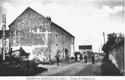 Photos et cartes postales anciennes de magny les hameaux for Jardin de cocagne magny les hameaux