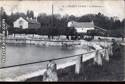 Photos et cartes postales anciennes de marly le roi 78160 - Piscine de marly le roi ...