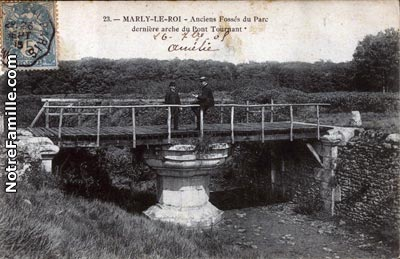 Photos et cartes postales anciennes de marly le roi 78160 for Piscine marly le roi