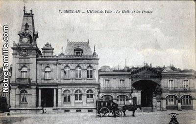 Photos et cartes postales anciennes de meulan 78250 for Piscine de meulan