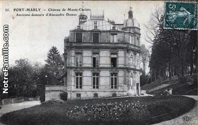 Photos et cartes postales anciennes de le port marly 78560 - Les pyramides avenue de saint germain port marly ...