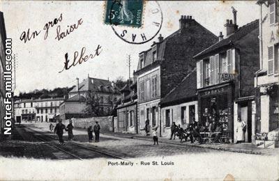 Photos et cartes postales anciennes de le port marly 78560 - 3 avenue simon vouet le port marly 78560 ...