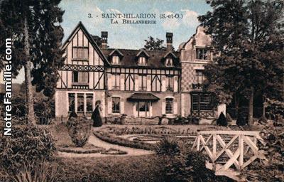 Photos Et Cartes Postales Anciennes De Saint Hilarion 78125