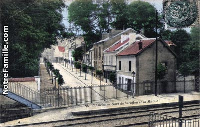 Photos et cartes postales anciennes de viroflay 78220 for Piscine viroflay
