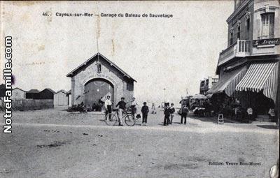Photos et cartes postales anciennes de cayeux sur mer 80410 for Garage cayeux sur mer