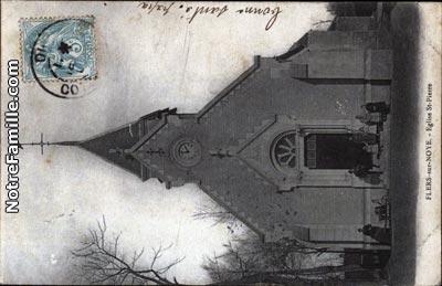 photos et cartes postales anciennes de flers sur noye 80160. Black Bedroom Furniture Sets. Home Design Ideas