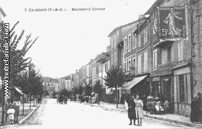 Photos et cartes postales anciennes de caussade 82300 for Plan caussade