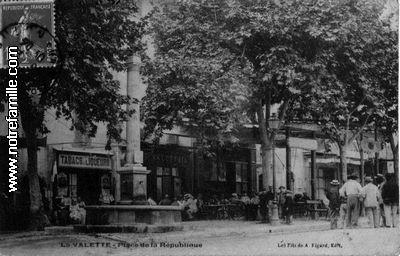 Photos et cartes postales anciennes de la valette du var for Le geant du meuble la valette