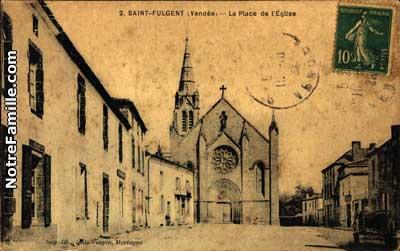 Photos et cartes postales anciennes de saint fulgent 85250 for Piscine st fulgent