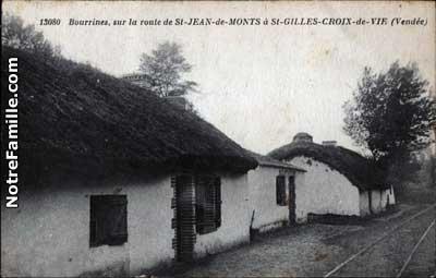 photos et cartes postales anciennes de saint jean de monts 85160. Black Bedroom Furniture Sets. Home Design Ideas