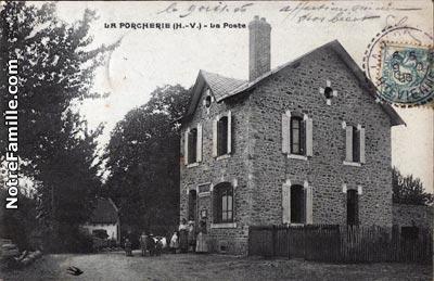 Photos et cartes postales anciennes de la porcherie 87380 for Haute vienne carte