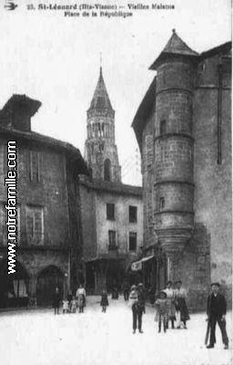 Photos et cartes postales anciennes de saint l onard de - Office de tourisme saint leonard de noblat ...