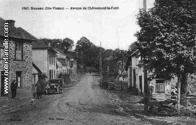 Photos et cartes postales anciennes de sussac 87130 for 86 haute vienne