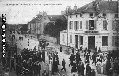 Carte postale ancienne de Thaon-les-Vosges