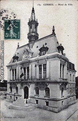 Photos et cartes postales anciennes de corbeil essonnes 91100 for Piscine de corbeil essonnes