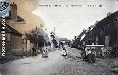 Photos Anciennes De Gometz La Ville