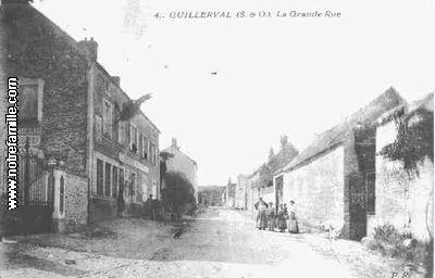Plan Ville Rue Saint Cyr Mereville