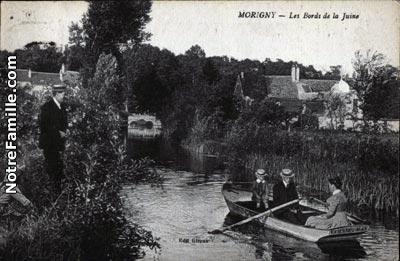 photos et cartes postales anciennes de morigny champigny 91150. Black Bedroom Furniture Sets. Home Design Ideas