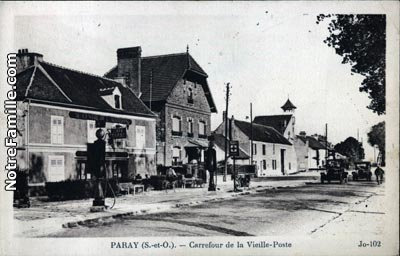 Photos et cartes postales anciennes de paray vieille poste for Piscine paray vieille poste