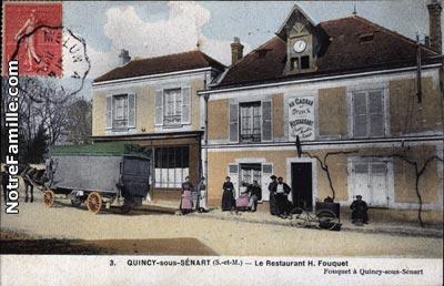 Photos et cartes postales anciennes de quincy sous s nart for Appart hotel quincy sous senart