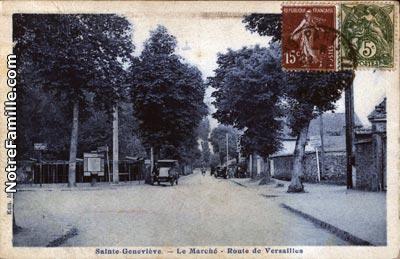Photos et cartes postales anciennes de sainte genevi ve des bois 91700 - Piscine de sainte genevieve des bois ...