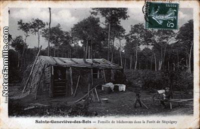 photos et cartes postales anciennes de sainte genevi ve des bois 91700. Black Bedroom Furniture Sets. Home Design Ideas