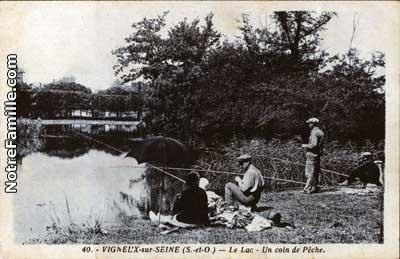 Photos et cartes postales anciennes de vigneux sur seine for Garage ad vigneux sur seine