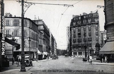 plan c Neuilly-sur-Seine