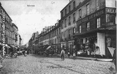 F Ville D Avray  Rue De Sevres