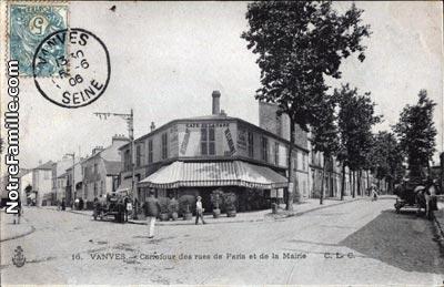 Photos et cartes postales anciennes de vanves 92170 for Piscine vanves