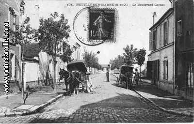 Photos et cartes postales anciennes de neuilly sur marne for Garage ad neuilly sur marne