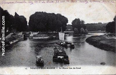 Photos et cartes postales anciennes de neuilly sur marne for 9 porte de neuilly noisy le grand