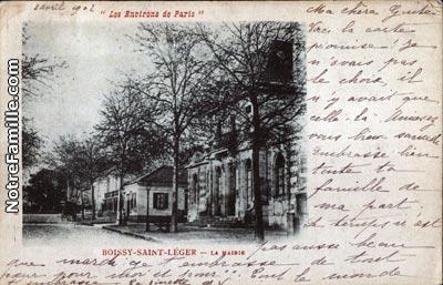 Photos et cartes postales anciennes de boissy saint l ger for Val immobilier boissy saint leger