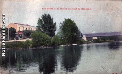 Photos et cartes postales anciennes de bonneuil sur marne - Piscine de bonneuil ...