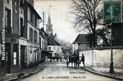 photos et cartes postales anciennes de l 39 ha les roses 94240
