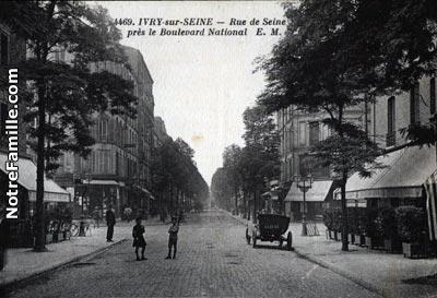 Photos et cartes postales anciennes de ivry sur seine 94200 - 94200 ivry sur seine ...