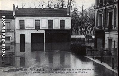 Photos et cartes postales anciennes de maisons alfort 94700 for 7 avenue du general de gaulle maison alfort