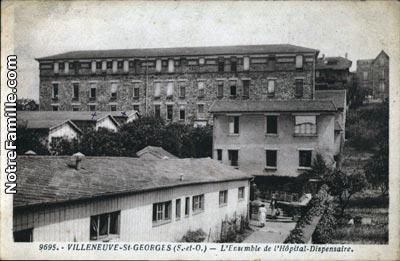 photos et cartes postales anciennes de villeneuve saint georges 94190. Black Bedroom Furniture Sets. Home Design Ideas