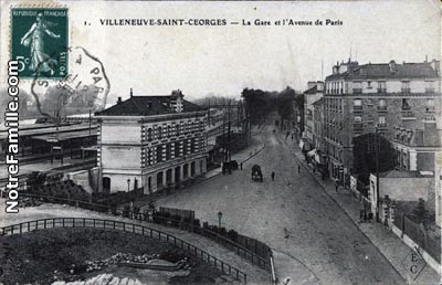 Photos et cartes postales anciennes de villeneuve saint - Piscine villeneuve saint georges ...