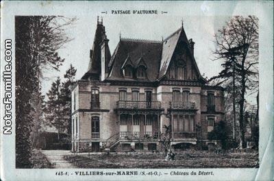 Photos et cartes postales anciennes de villiers sur marne 94350 for Casa villiers sur marne